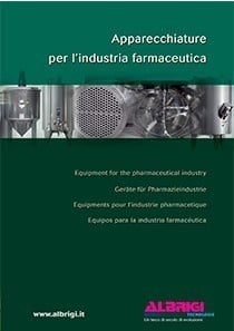 Equipment for the pharmaceutical industry